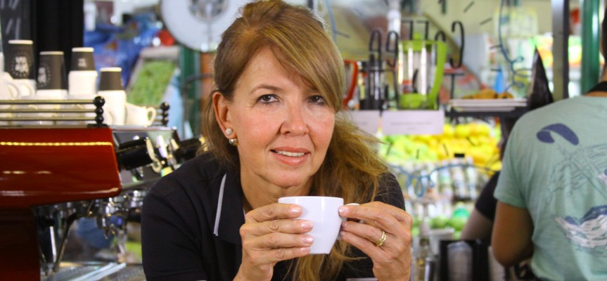 Café con aroma de mujer
